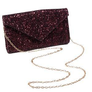 Price Drop! Beautiful Sequin Envelop Clutch